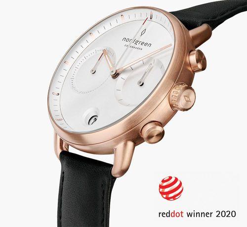 示意Pioneer錶得到紅點獎,Nordgreen Pioneer 良好評價