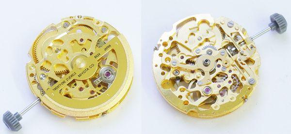 解釋手錶機芯零件多,易損壞,若進水需即時處理