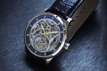 Fiber 陀飛輪錶,為機械錶的陀飛輪功能範例