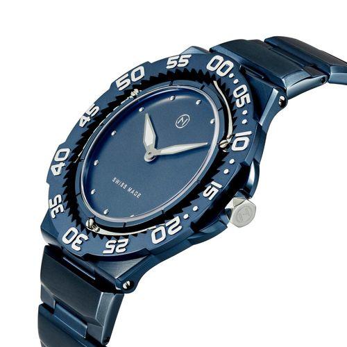 使用藍寶石水晶鏡面的手錶範例