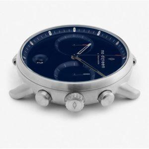 Pioneer北歐藍錶盤、月光銀錶殼