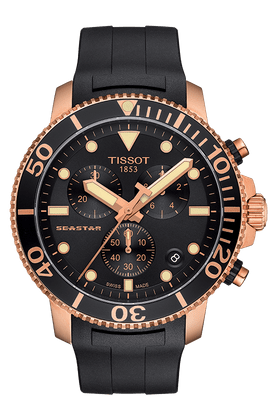 Tissot seastar 1000 石英錶玫瑰金版本