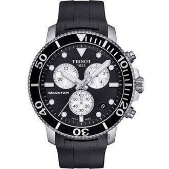 Tissot Seastar 1000 型號: T1204171705100