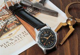 Oris 1938年推出的Big Crown 手錶