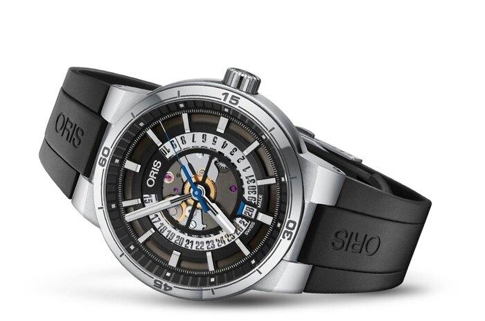 ORIS Williams TT1 鏤空日期機械錶