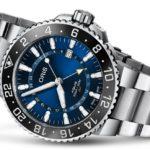 Oris 雙時區陶瓷潛水錶藍,示意Oris評價