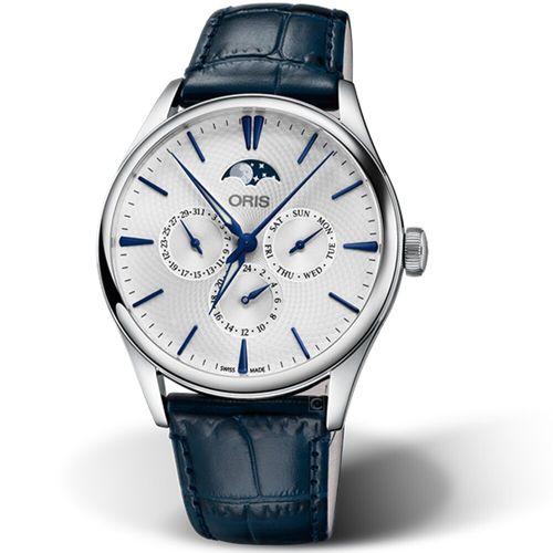 Oris Artelier月相盈虧機械錶