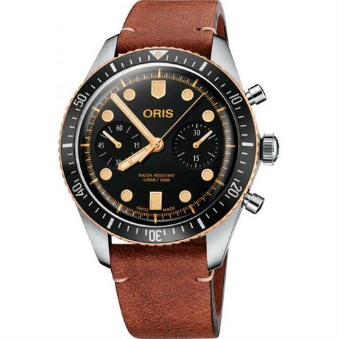 Oris Divers Sixty-Five 青銅計時潛水錶