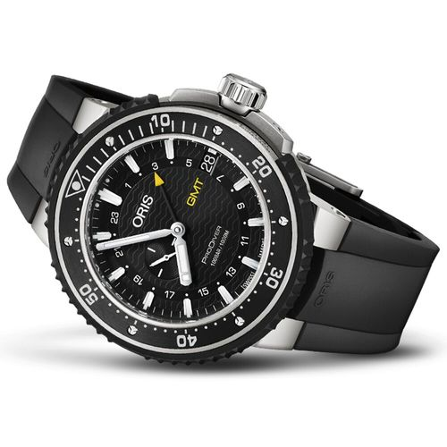 Oris Prodiver 雙時區鈦金屬潛水錶