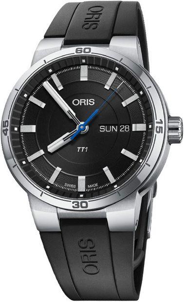 Oris TT1 日期一級方程式車隊機械錶