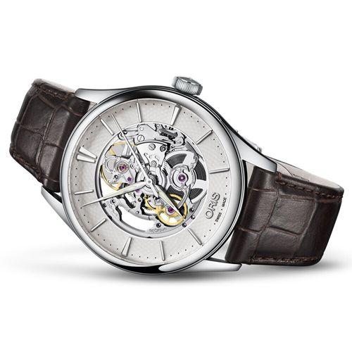 Oris Artelier 鏤空機械錶