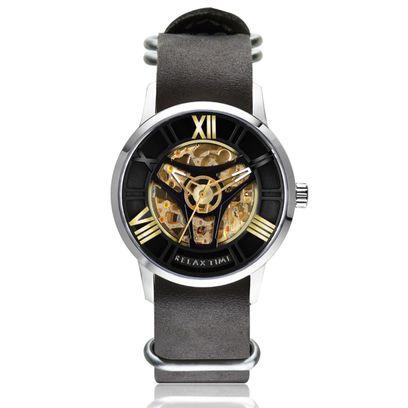 RT-61-1限量機械錶款-銀