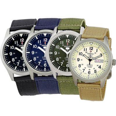 搭載7S36機芯的Seiko SNZG系列錶款