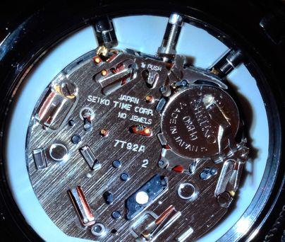 7T92機芯圖