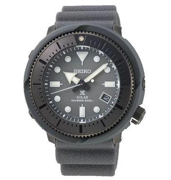 搭載V157機芯的Seiko Prospex SNE537太陽能復刻白鯨潛水錶