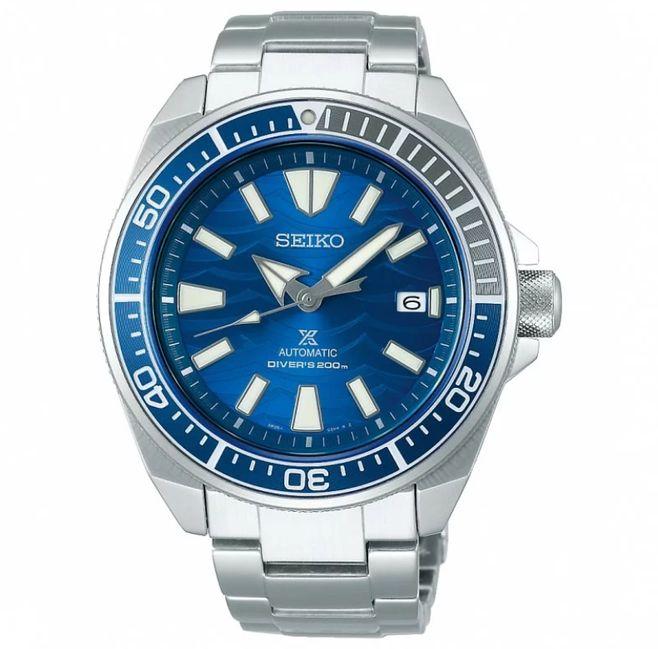 搭載Seiko 4R35機芯的Seiko Prospex愛海洋特別版SRPD23