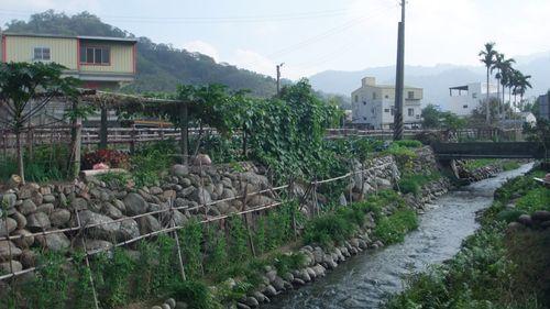 黃金小鎮中,清澈近人的穿龍圳道
