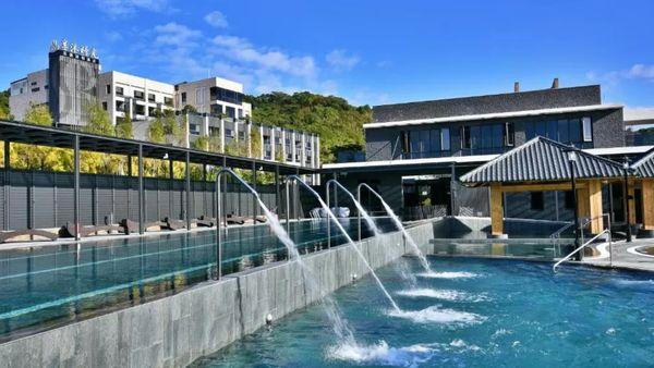 享沐時光莊園渡假酒店浴池