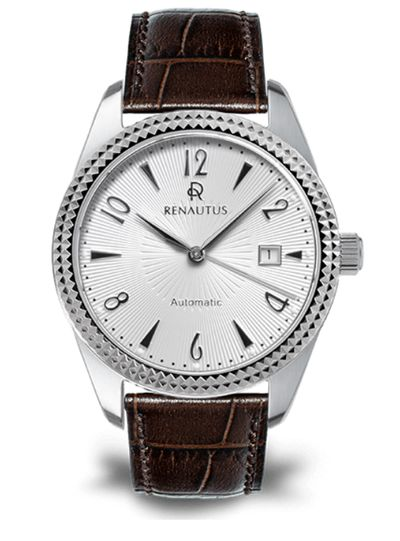 Renautus 的Classic Automatic 40 放射紋錶盤+巴黎飾釘錶殼