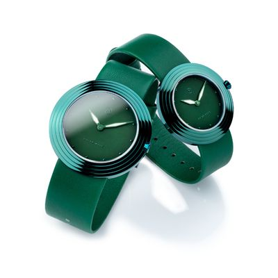 手錶推薦: Nove綠色對錶