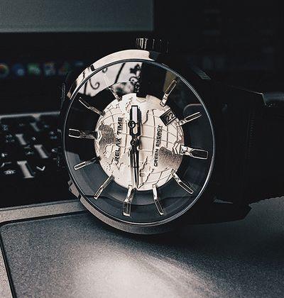 台灣手錶推薦品牌Relax Time的人動電能銀面錶款