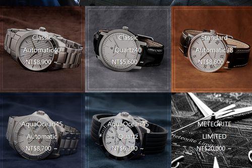 6種Renautus男生錶款樣式圖