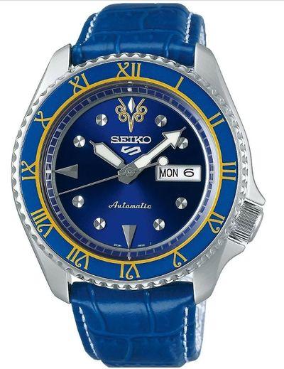 搭載Seiko 4R36 機芯的限量聯名腕錶快打旋風Street Fighter V 錶-CHUN-LI春麗