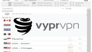 VyprVPN評價封面,上頭有個VyprVPN的眼鏡蛇Logo